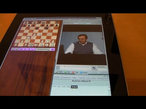 Chess Base on iPad