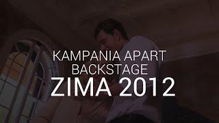 Anja Rubik i Sasha Knezevic - backstage święta 2012