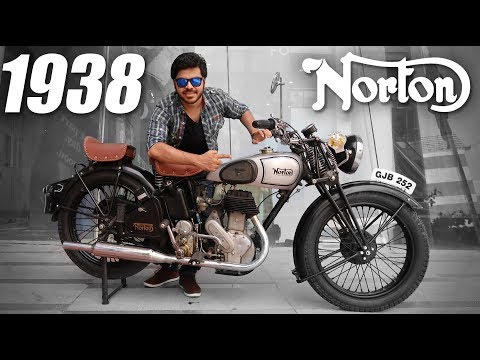 Riding an 80 Year Old Bike !! | 1938 Norton 16H !!