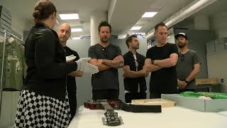 Rock Hall Vault Tour with Simple Plan - Forever Warped Exhibit Celebration