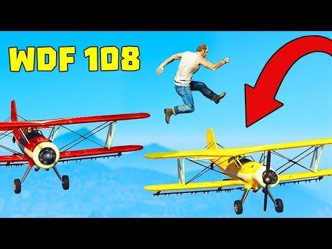 Приколы в GTA 5 | WDF 108 | Полетаем?