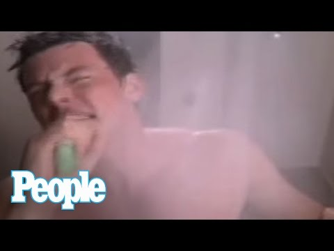 GLEE Auditions: Cory Monteith on His Singing Shower Scene Video