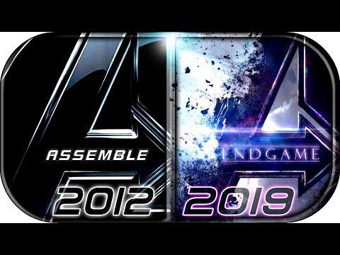 EVOLUTION of AVENGERS MCU Movies (2012-2019) Avengers: EndGame Full Movie Trailer 2019 movie scene