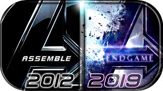 EVOLUTION of AVENGERS MCU Movies 20122019 Avengers