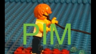 Lego Pim in Water Skiing