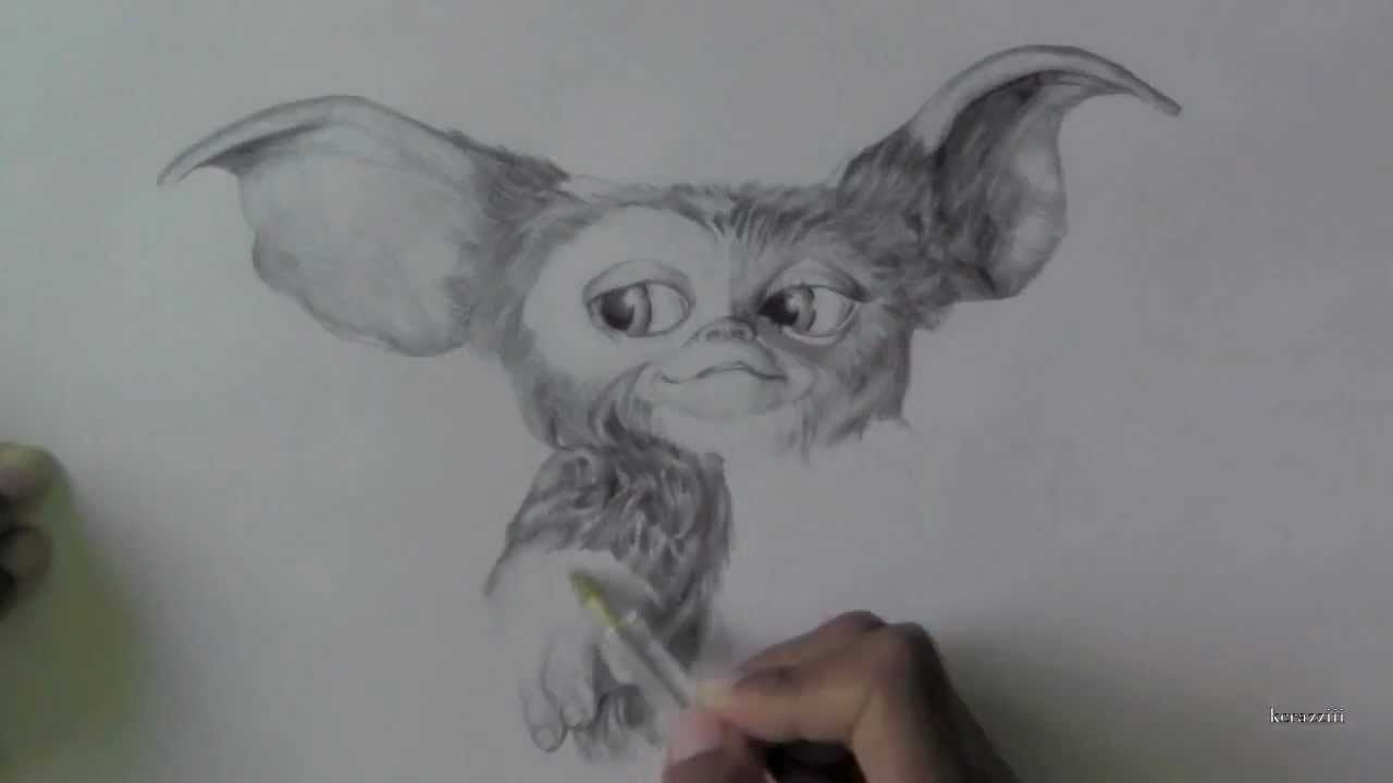 Gizmo From Gremlins Drawing YouTube