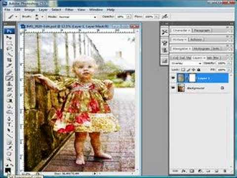 Applying Textures in Photoshop