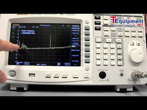 Rigol DSA1030A High Performance 3 GHz Spectrum Analyzer: FM Demodulation Demo