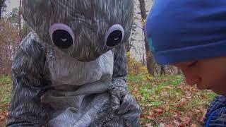 Animal costumes. Squirrel Adult Costume