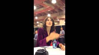 NYCC '12 - Annie Parisse (The Following)