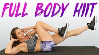 Fat Burning Full Body Workout with Dani, HIIT Intense Cardio, 20 Minute Fitness At Home, Beginners