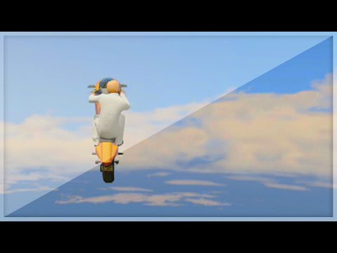 Insane Flying Bike Stunts (gta 5 Funny Moments) video