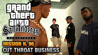 GTA San Andreas Remastered - Mission #96 - Cut Throat Business (Xbox 360 / PS3)