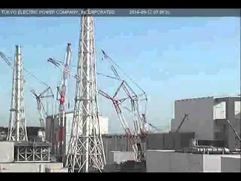 2014.09.12 07:00-08:00 / ふくいちライブカメラ (Live Fukushima Nuclear Plant Cam)