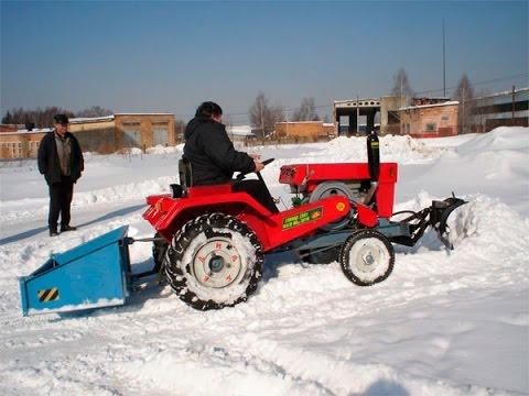 Самодельный для чистки снега