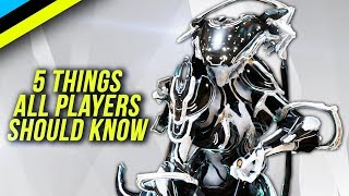 WARFRAME Beginner Tips: 5 Things All New Players Should Know