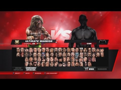 WWE 2K14 Full Roster & Ratings