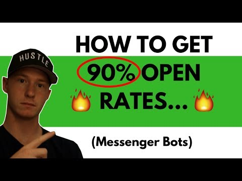 Wil MESSENGER BOTS TAKEOVER EMAIL MARKETING With 90% Open Rates??