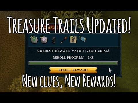 Reward rerolls and Third Age Dyes?! Runescape 3 Treasure Trails UPDATE! + Let's Play