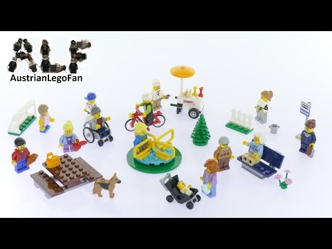 Lego City 60134 Fun in the Park City People Pack - Lego Speed Build Review