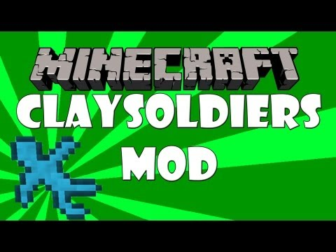 Minecraft mod review: clay soldiers (Dutch)