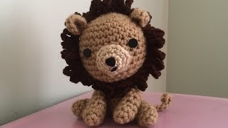 Tutorial on how to Crochet an Amigurumi Lion Part 1