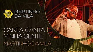 Martinho da Vila e artistas cantam