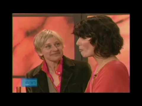 Sandra Bullock on Ellen DeGeneres Show 2006 (2/2)