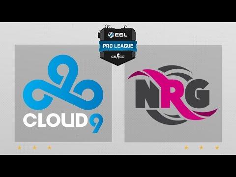 CS:GO - Cloud9 Vs. NRG [Train] Map 2 - ESL Pro League Season 4 - NA Matchday 20