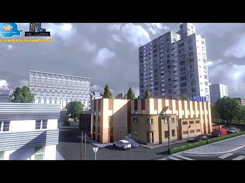 Romanian map ETS2 (Euro Truck Simulator 2)