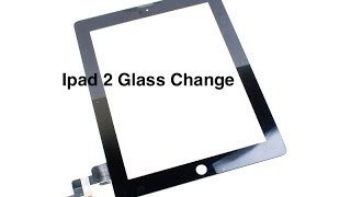 ipad 2 glass change (cami kirmadan çikartma)