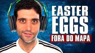 Os Easter Eggs FORA DO MAPA mais INCRÍVEIS dos games