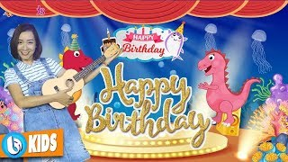 HAPPY BIRTHDAY FOR CHILDREN | Kids Party Songs & Nursery Rhymes
