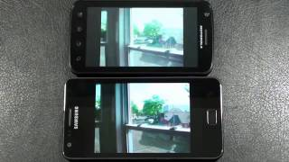 Samsung Galaxy S II vs Motorola Atrix 4G Dual-Core Face Off