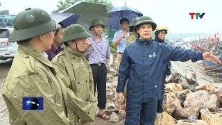 Chủ tịch Nguyễn Đình Xứng: Huyện Quảng Xương cần nâng cao ý thức về công tác phòng tránh bão