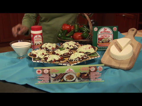 Tostadas con Chorizo Como Hacer (Español)