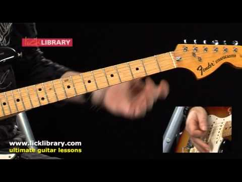 Bridge Of Sighs - Robin Trower Guitar Lesson With Michael Casswell Licklibrary