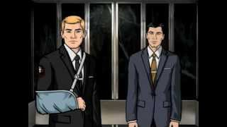 Barry Dylan - (from Archer) The Second Best Secret Agent