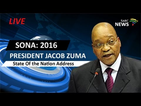 President Jacob Zuma delivers SONA 2016