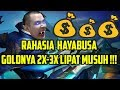Tutorial Hayabusa, RAHASIA GOLD 2X 3X LIPAT MUSUH! Mobile Legends