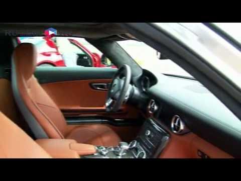 Тест-драйв Mercedes-Benz SLS AMG на Дни.ру