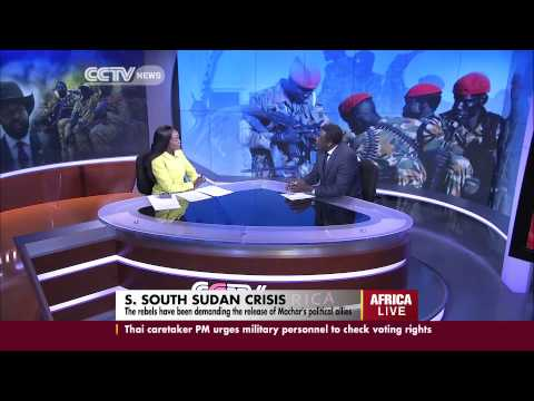 John Gachie speaks on South Sudan ceasefire agreement