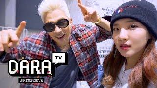 DARA TV │DARALOG #ep.13 TAEYANG CONCERT IN BANGKOK 태양콘서트 in 방콕!