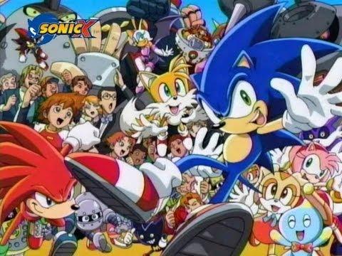 Sonic X Italian Theme ITA (2014)