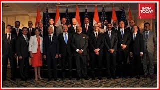 Narendra Modi Meets Top American Business Leaders