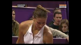 Tatiana Golovin WTA Paris 2006 Sweaty
