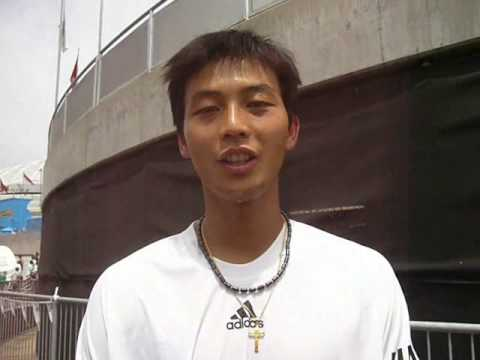 Lunar New Year Greetings from Rendy Lu Yen-Hsun at Australian Open