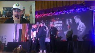 KSI VS LOGAN PAUL PRESS CONFERENCE (REACTING TO MY FIGHT vs FaZe SENSEI AND NEW FIGHTS ANNOUNCED)