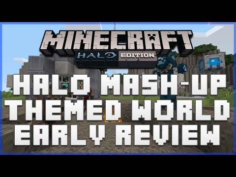 MINECRAFT XBOX 360 EDITION: HALO MASH-UP PACK THEMED WORLD EARLY SHOWCASE [EARLY ACCESS]