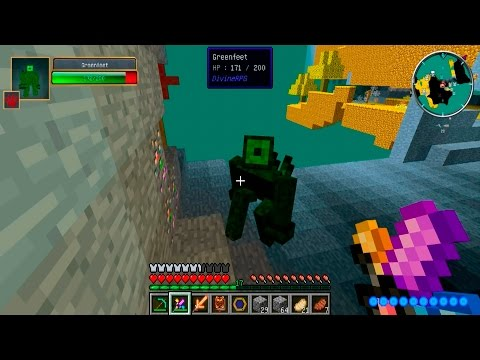 MINECRAFT: DIVINE RPG №13 | ЗЕЛЕНЫЕ ЧЕЛОВЕЧКИ